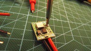 Adjusting the voltage