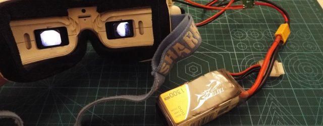 DIY Fatshark Battery Alternative