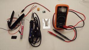 DIY Fatshark Battery Alternative - Parts