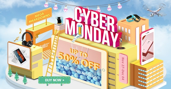 Cyber Monday Drone Deals Gearbest