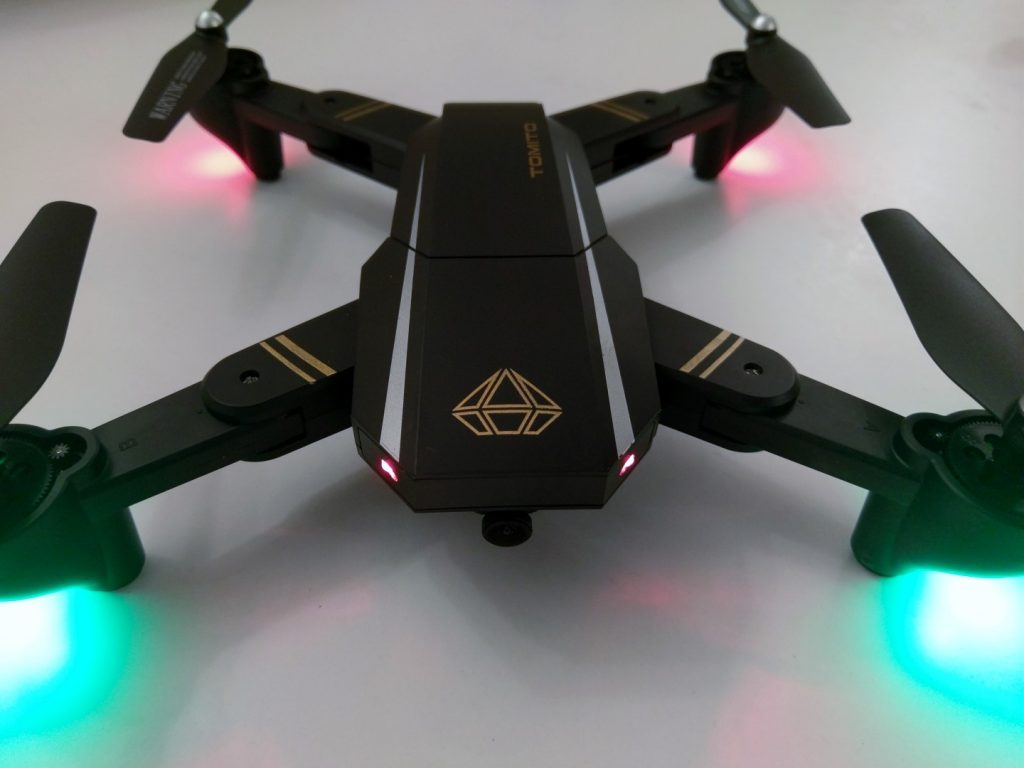DM95 Visitor Foldable FPV Drone Review